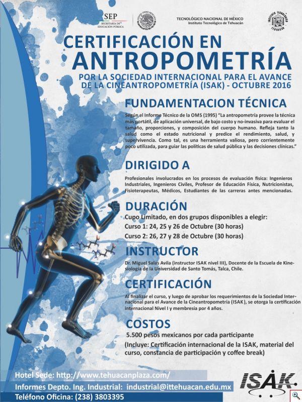 CERTIFICACION EN ANTROPOMETRIA
